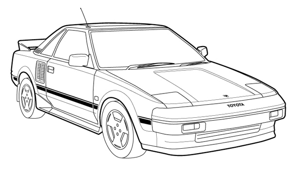 easy car drawing images